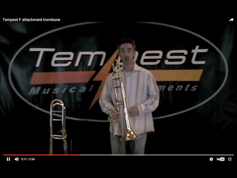 Tempest F Attachment Trombone