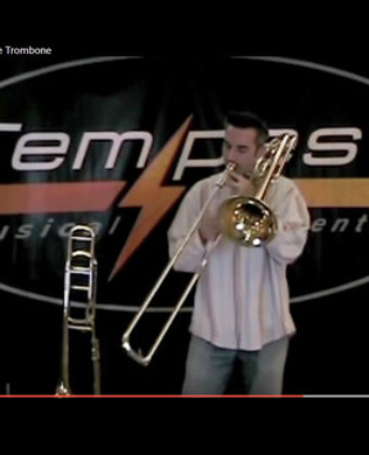 Tempest Axial Flow Valve Trombone