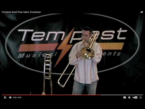 Tempest Musical Instruments - Trombone Demonstration