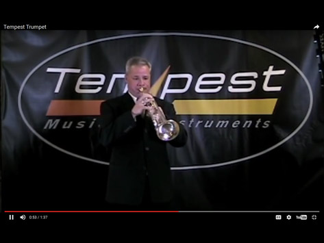 Tempest Musical Instruments - Trumpet Demonstration