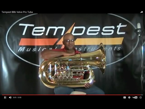 Tempest Musical Instruments - Tuba Demonstration