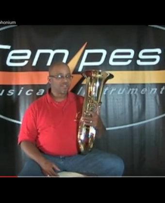Tempest British Style Euphonium