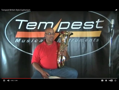 Tempest Musical Instruments - Brass Demonstration