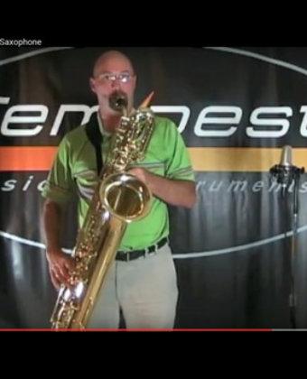 Tempest Low A Baritone Sax
