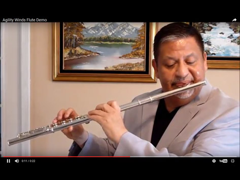 Tempest Musical Instruments - Flute Demonstration