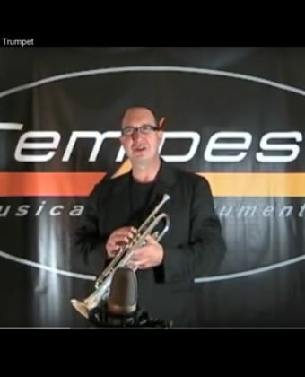 Tempest Bb Silver Plated Trumpet