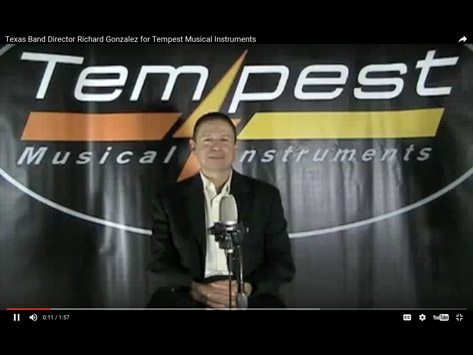 Tempest Musical Instruments - Richard Gonzalez - Band Director