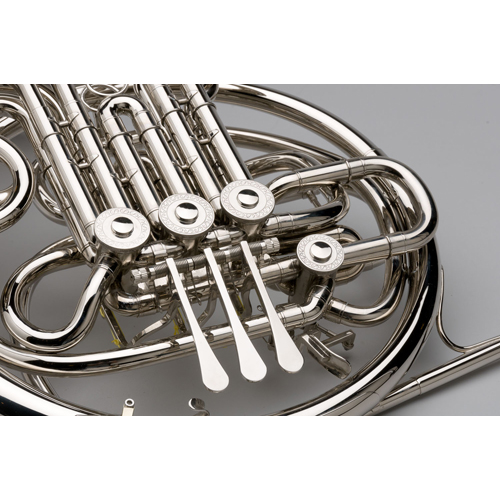 French Horn - Custom F/Bb Double, Nickel Silver - 1 - Tempest Musical Instruments
