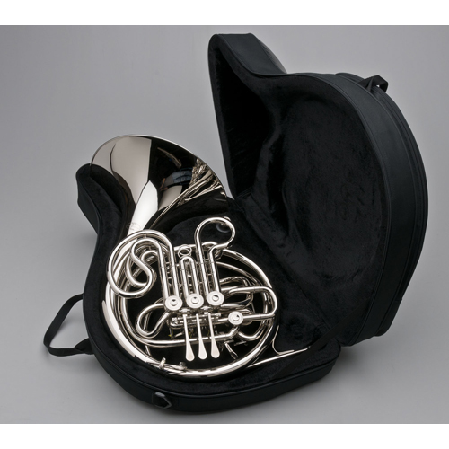 French Horn - Custom F/Bb Double, Nickel Silver - Case - Tempest Musical Instruments