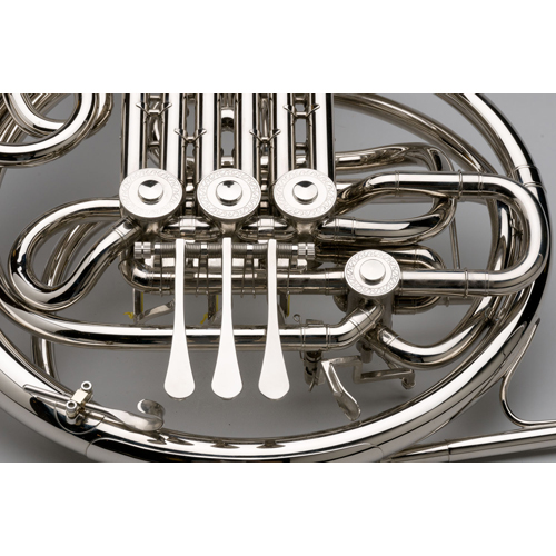 French Horn - Custom F/Bb Double, Nickel Silver - 4 - Tempest Musical Instruments