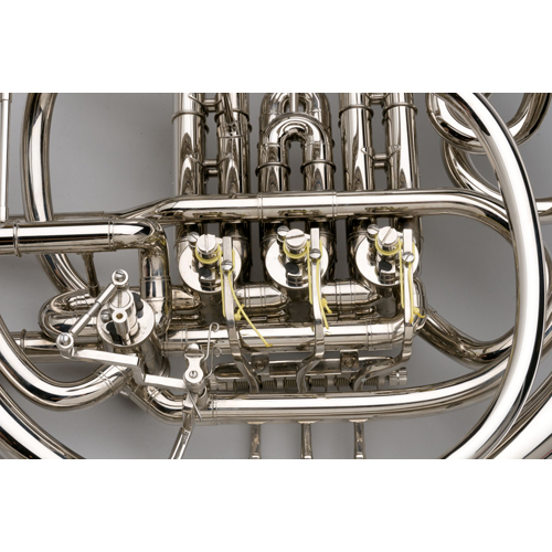 French Horn - Custom F/Bb Double, Nickel Silver - 5 - Tempest Musical Instruments