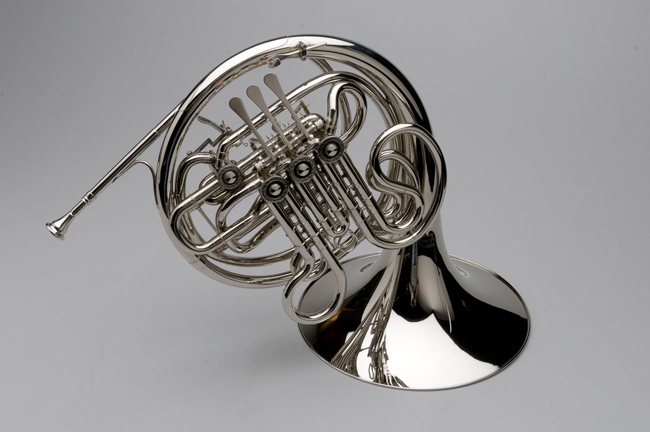 French Horn - Custom F/Bb Double, Nickel Silver - Tempest Musical Instruments