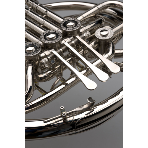 French Horn - Custom F/Bb Double, Nickel Silver - 8 - Tempest Musical Instruments