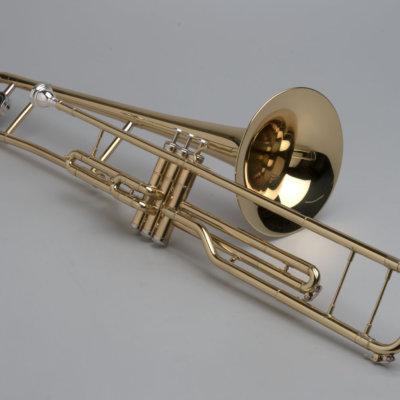 Piston Valve Trombone - 01 - Tempest Musical Instruments