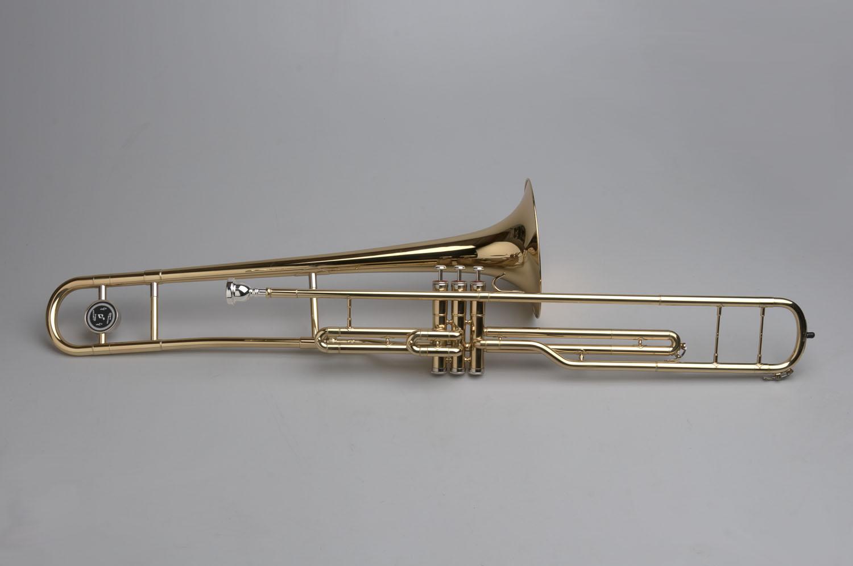 Piston Valve Trombone - 02 - Tempest Musical Instruments