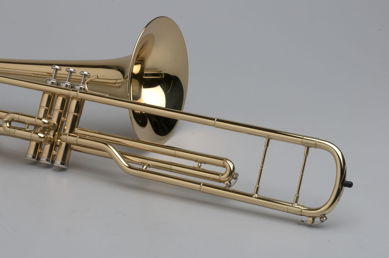 Piston Valve Trombone - 03 - Tempest Musical Instruments