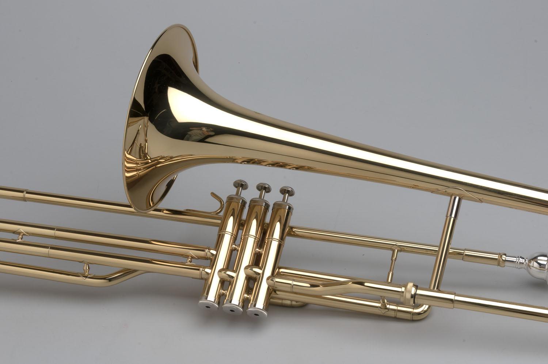 Piston Valve Trombone - 04 - Tempest Musical Instruments