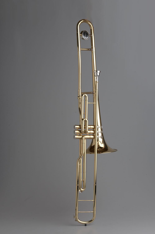 Piston Valve Trombone - 05 - Tempest Musical Instruments