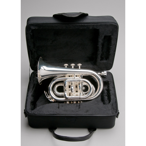 Silver Plated Pocket Trumpet - 3 - Tempest Musical Instruments