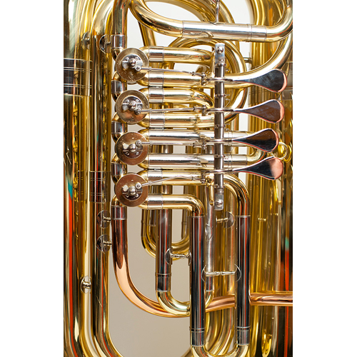BBb Full Size Tuba - Prague Model - 2 - Tempest Musical Instruments
