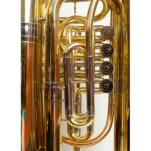 BBb Full Size Tuba - Prague Model - 5 - Tempest Musical Instruments