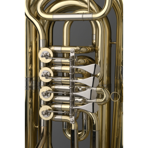 BBb Intermediate Tuba 3/4 - Munich Model - 3 - Tempest Musical Instruments