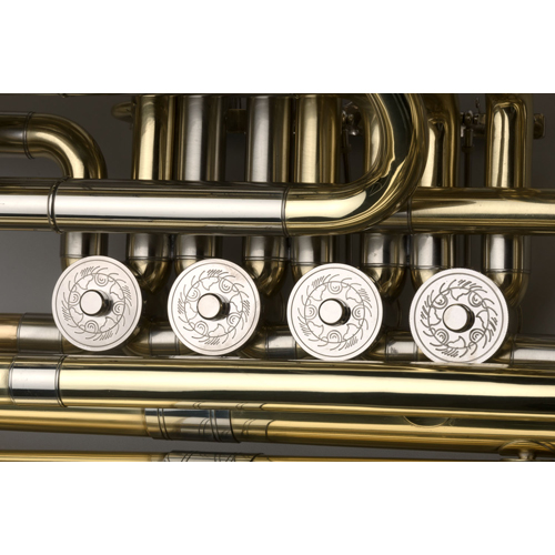 BBb Intermediate Tuba 3/4 - Munich Model - 4 - Tempest Musical Instruments