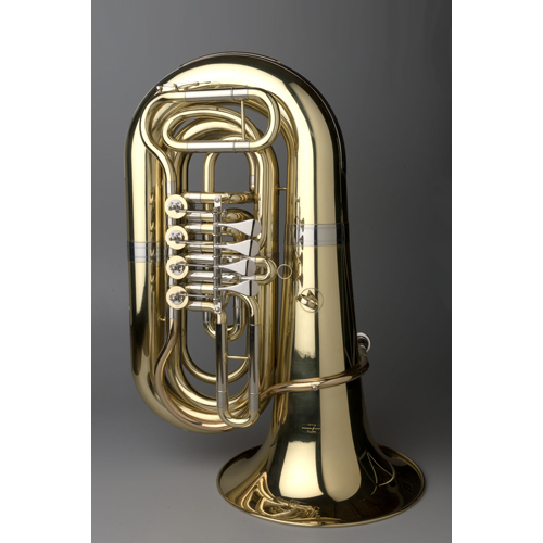 BBb Intermediate Tuba 3/4 - Munich Model - 6 - Tempest Musical Instruments