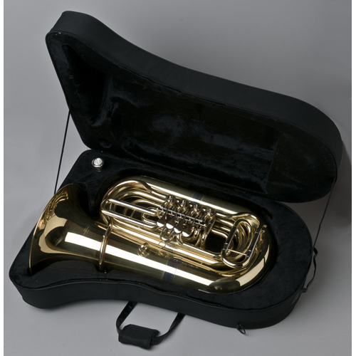 BBb Intermediate Tuba 3/4 - Munich Model - Case - Tempest Musical Instruments