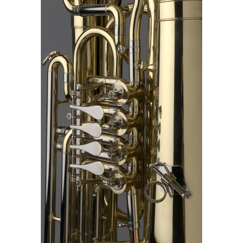 BBb Junior Tuba 1/2 - Regensburg Model - 1 - Tempest Musical Instruments
