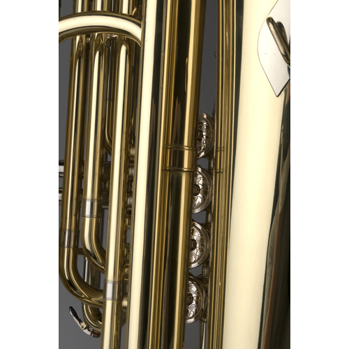 BBb Junior Tuba 1/2 - Regensburg Model - 3 - Tempest Musical Instruments