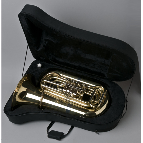 BBb Junior Tuba 1/2 - Regensburg Model - Case - Tempest Musical Instruments