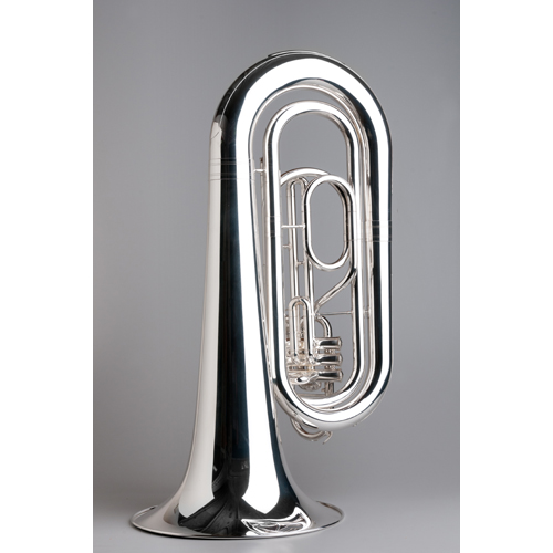 BBb Marching Tuba Standard - Silver - 3 - Tempest Musical Instruments