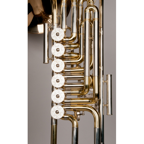 Cimbasso Tuba - 6 Valve - 2 - Tempest Musical Instruments