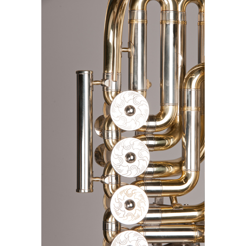 Cimbasso Tuba - 6 Valve - 3 - Tempest Musical Instruments