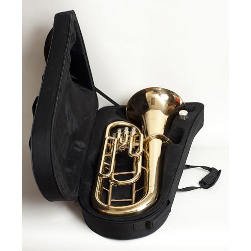Euphonium - 4 Valve - Brass - Case - Tempest Musical Instruments