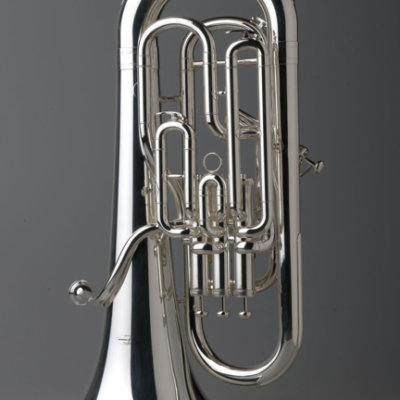 Euphonium - Full Compensating - Silver - Tempest Musical Instruments