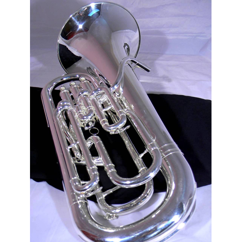 Euphonium - Full Compensating - Silver - 2 - Tempest Musical Instruments