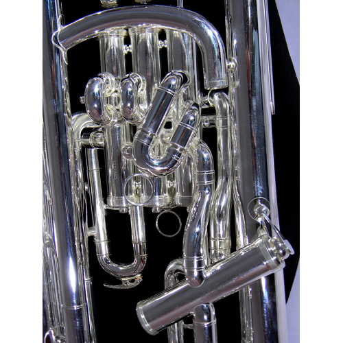 euphonium full compensating silver tempest musical instruments
