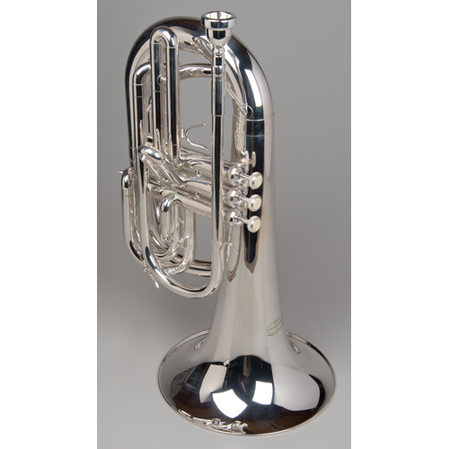 Marching Baritone - Silver - 1 - Tempest Musical Instruments