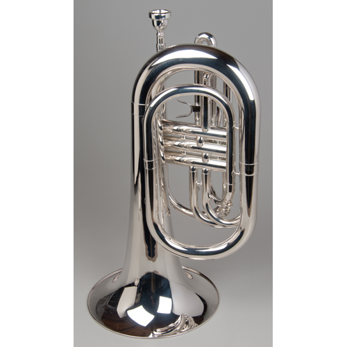 Marching Baritone - Silver - 3 - Tempest Musical Instruments