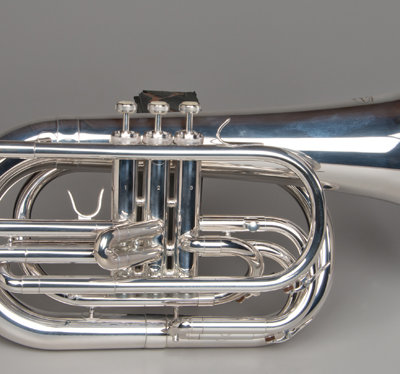 Marching Baritone - Silver - Tempest Musical Instruments