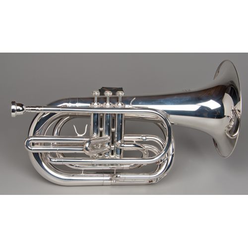 Marching Baritone - Silver - 4 - Tempest Musical Instruments