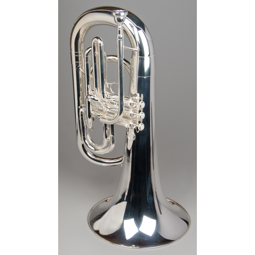 Marching Euphonium - Silver - 1 - Tempest Musical Instruments