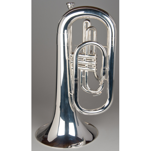 Marching Euphonium - Silver - 3 - Tempest Musical Instruments