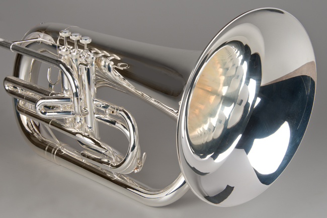 Marching Euphonium - Silver - Tempest Musical Instruments