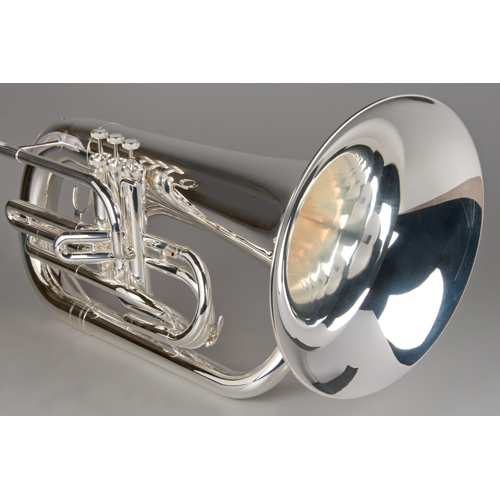 Marching Euphonium - Silver - 4 - Tempest Musical Instruments