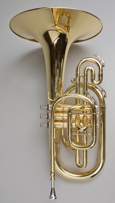 Marching Mellophone In F - Tempest Musical Instruments