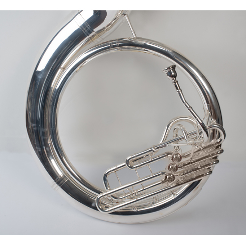 Sousaphone - Silver - 2 - Tempest Musical Instruments