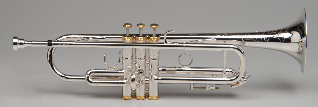 Apollo Trumpet - Silver - Tempest Musical Instruments